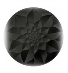 toppen af Hydria urne i sort der kan tegnes på og gøres personlig