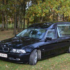 rustvogn til transport af kiste BMW 5200